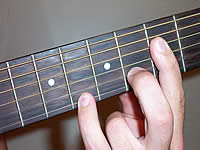 Guitar Chord Csus4 Voicing 3