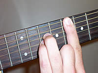 Guitar Chord Csus4 Voicing 4