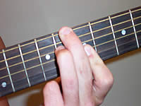 Guitar Chord D+7 Voicing 4