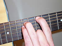 Guitar Chord D5 Voicing 4