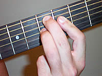 Guitar Chord D7b9 Voicing 1