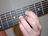 Guitar Chord D7b9 Voicing 3