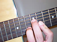 Guitar Chord D7b9 Voicing 5