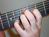 Guitar Chord D7#9 Voicing 2