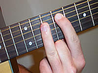 Guitar Chord D7#9 Voicing 4