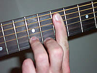 Guitar Chord D9#11 Voicing 4