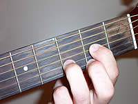 Guitar Chord D Voicing 1