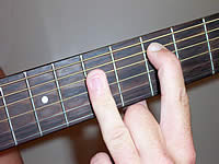 Guitar Chord D Voicing 2
