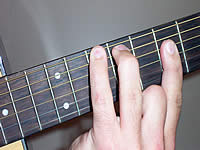Guitar Chord D Voicing 3