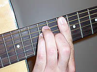 Guitar Chord D Voicing 4