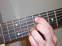 Guitar Chord Dadd9 Voicing 4