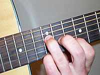 Guitar Chord Dadd9 Voicing 5