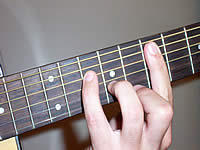 Guitar Chord E+7 Voicing 3