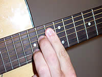 Guitar Chord E7b5 Voicing 5