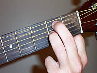 Guitar Chord E7sus4 Voicing 1