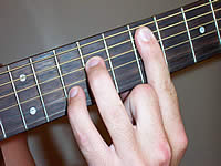 Guitar Chord E7sus4 Voicing 3