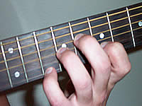 Guitar Chord E9#11 Voicing 4