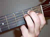Guitar Chord E Voicing 1
