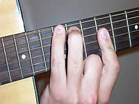 Guitar Chord E Voicing 4