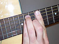 Guitar Chord E Voicing 5