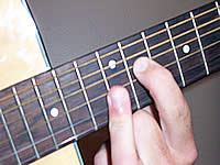Guitar Chord Eb+7b9 Voicing 5