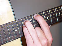 Guitar Chord Eb5 Voicing 4