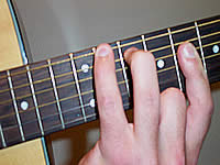 Guitar Chord Eb Voicing 4