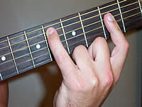 Guitar Chord Ebmaj9 Voicing 2