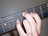Guitar Chord Ebmaj9 Voicing 3