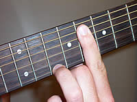 Guitar Chord Ebmaj9 Voicing 4