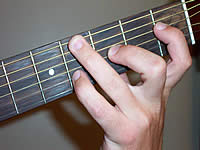 Guitar Chord Ebsus4 Voicing 1