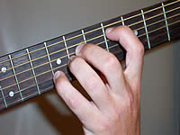 Guitar Chord Ebsus4 Voicing 2