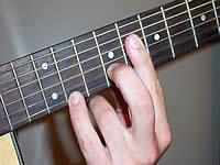 Guitar Chord Ebsus4 Voicing 3