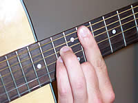 Guitar Chord Ebsus4 Voicing 4