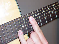 Guitar Chord Ebsus4 Voicing 5