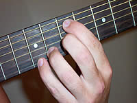 Guitar Chord Em13 Voicing 3