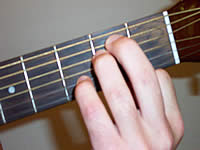 Guitar Chord Em7 Voicing 1