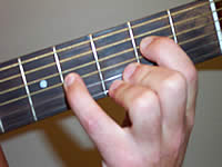 Guitar Chord Em7 Voicing 2