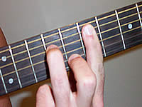 Guitar Chord Em7 Voicing 3
