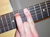 Guitar Chord Em7 Voicing 5