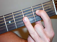 Guitar Chord Em7b5 Voicing 1