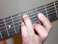 Guitar Chord Em7b5 Voicing 2