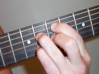 Guitar Chord Em7b5 Voicing 3