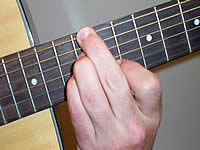 Guitar Chord Em7b5 Voicing 5