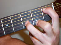 Guitar Chord Em9b5 Voicing 1