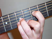 Guitar Chord Em9b5 Voicing 3
