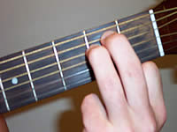 Guitar Chord Em Voicing 1