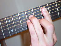 Guitar Chord Em Voicing 3