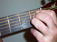 Guitar Chord Emaj7b5 Voicing 1