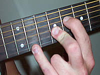 Guitar Chord Emaj7b5 Voicing 4